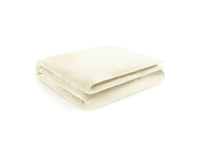 Home Collection Ivory Weighted Blanket