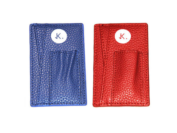 Credit Card Holder: 2-Pack (Lagoon Blue & Magma Red)