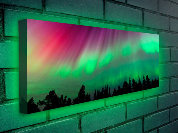 Moderndek Backlit Canvas (Polar Light) | StackSocial