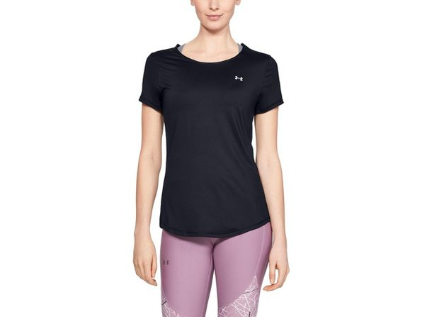 Under Armour Women's Iso-Chill Strappy-Back Top Black Size Extra Large