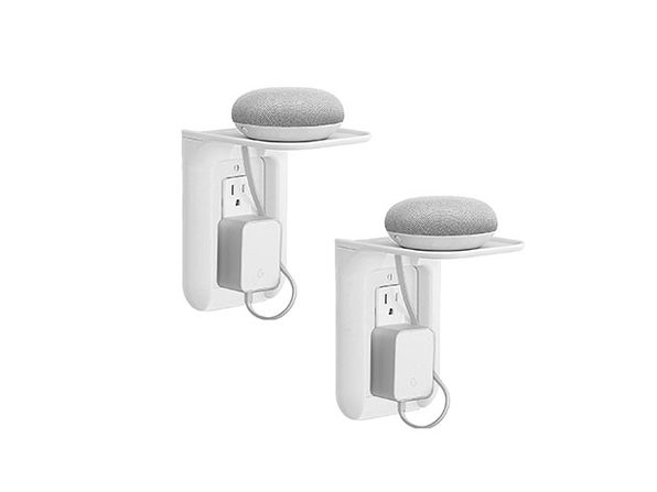 Wall Outlet Shelf: 2-Pack