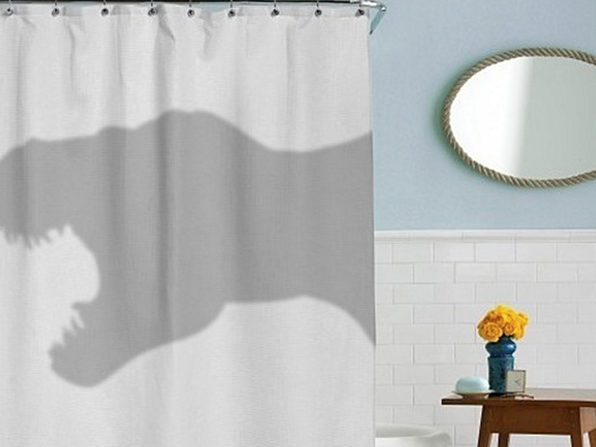 T-Rex Shower Curtain - Product Image