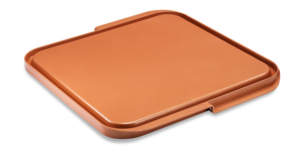 A griddle tray