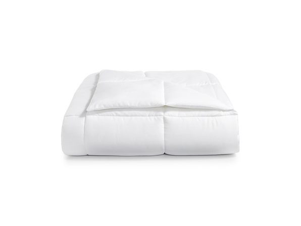 Martha Stewart Essentials Reversible Down Alternative Full/Queen Comforter, White