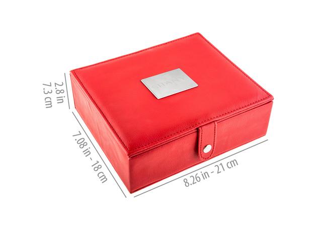 SHANY Vanity Vox- 15 Pc Premium Cosmetics Brush Set with Stylish Storage Box and Stand for $39 5