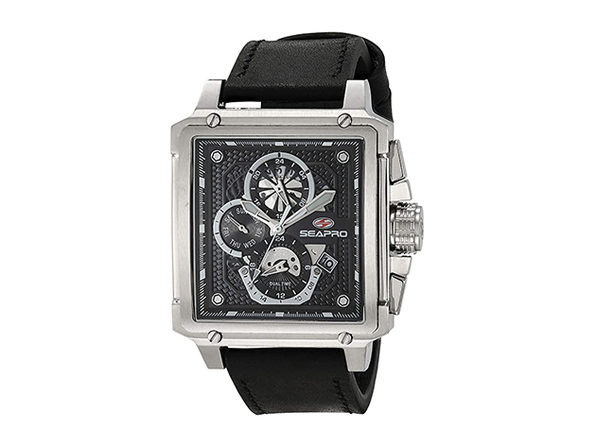 Seapro Men's Black Dial Watch - SP0111 - Product Image
