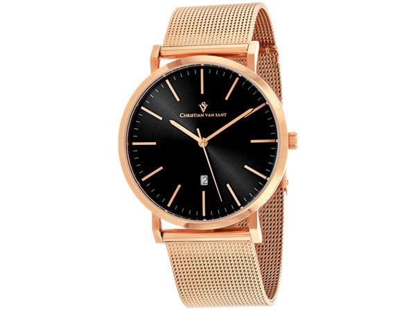 Christian Van Sant Men's Paradigm Black Dial Watch - CV4321