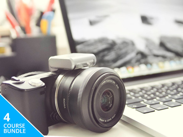 Live Courses: Adobe CC & Digital Photography Bundle