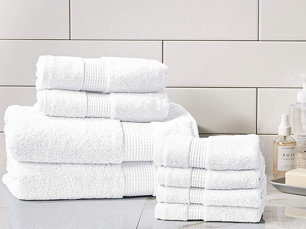 Turkish Cotton 700 GSM Towels: Set of 8