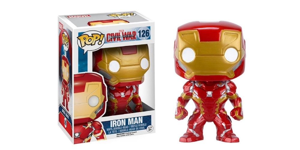 Funko POP – Captain America 3 – Iron Man – Vinyl Collectible Figure, on sale for $18.39 (9% off)