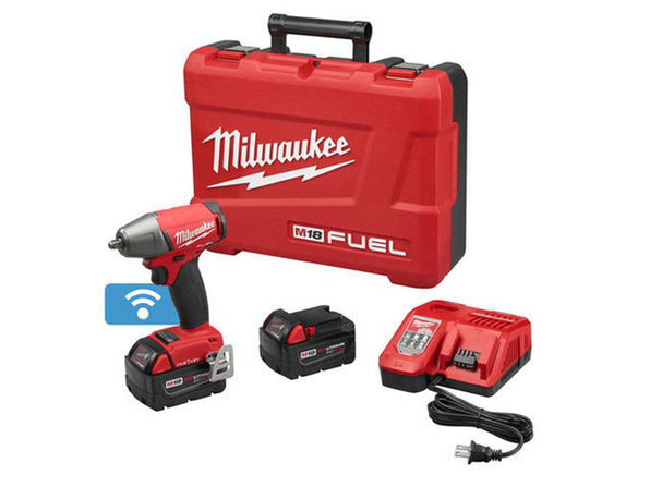 """Milwaukee 2758-22 M18 FUEL3/8"""" Compact Impact Wrench w/ Friction Ring"""