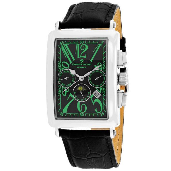 Christian Van Sant Men's Prodigy Black Dial Watch - CV9136