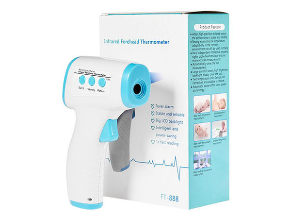 Digital LED Infrared No-Contact Thermometer