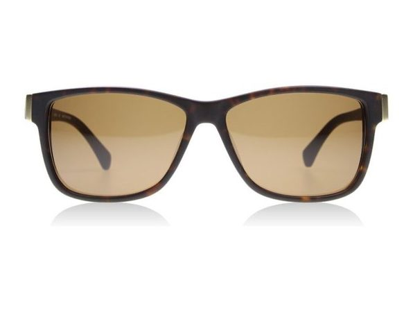Dragon Exit Row 2765-04 Men's Sunglasses Tortoise with Bronze Lens - Brown