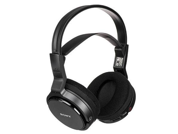 Sony Over-Ear Wireless RF Stereo TV Headphones (Renewed)