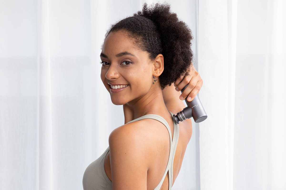 Addsfit Mini Portable Massage Gun, on sale for $84 when you use coupon code BFSAVE20 at checkout