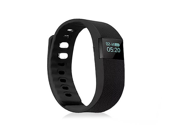 Upgraded Version Smart Bluetooth Fitness Watch (BLACK) - Product Image