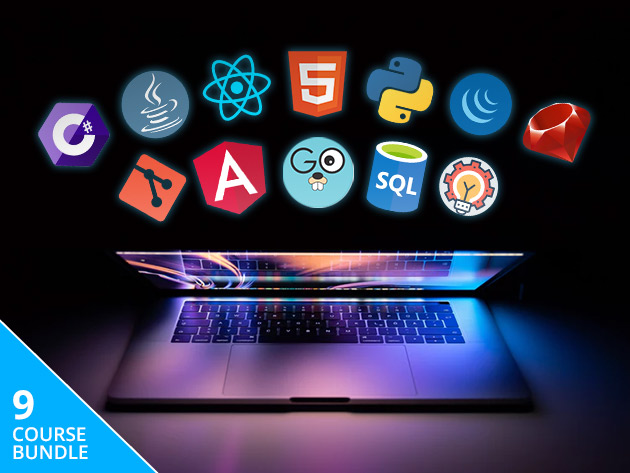 Work Toward a Lucrative Coding Career with 120+ Hours of Training in HTML, Ruby & More
