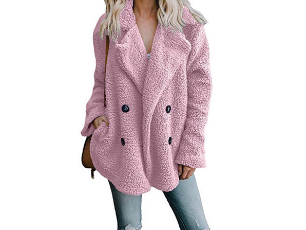 Plush Peacoat - Pink (3XL) - Product Image