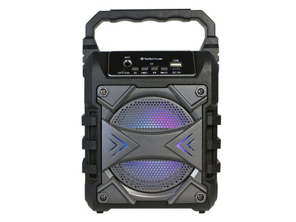 JET 4 Portable Bluetooth Speaker Grey - Product Image