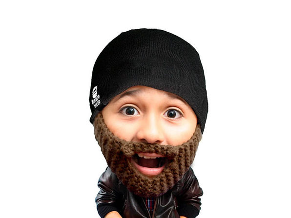 Beard Head® The First Ever Bearded Headwear: Kid Populous
