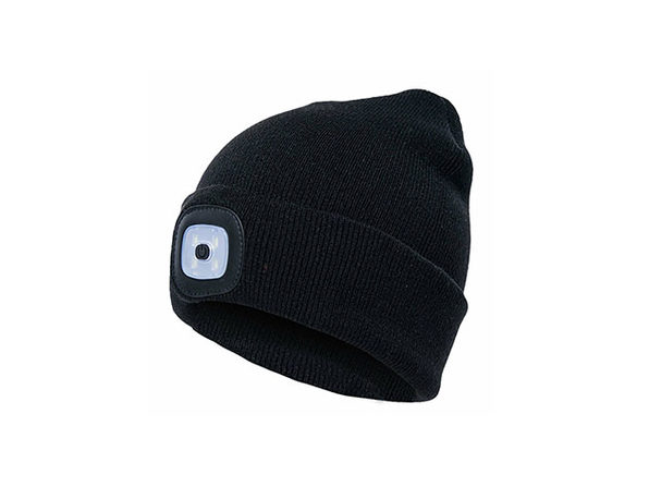 Unisex Beanie LED Rechargeable Lighted Hat