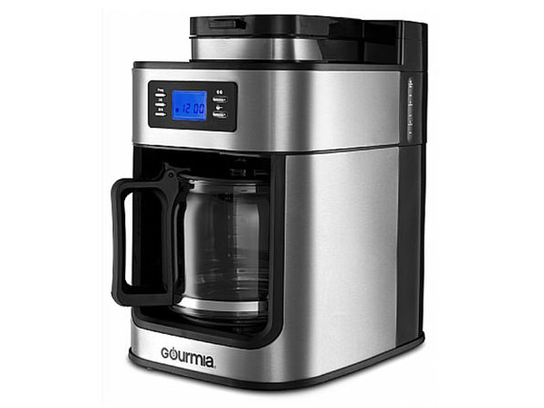 Gourmia® GCM4700 Coffee Maker with Built-In Grinder