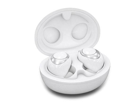 Brio SkyBorn S4 True Wireless Earbuds (White Pearl)