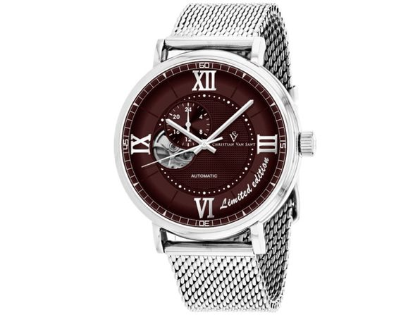 Christian Van Sant Men's Somptueuse LTD Brown Dial Watch - CV1143