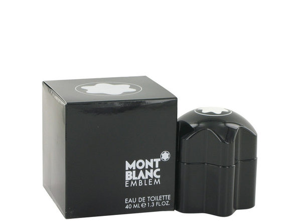 Montblanc Emblem Eau De Toilette Spray 1.3 oz For Men 100% authentic perfect as a gift or just everyday use - Product Image