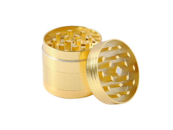 5-Piece Titanium Herb Grinder (Gold)