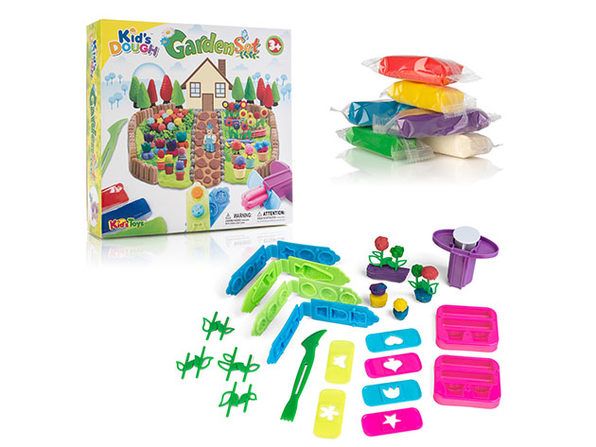 35-Piece Garden of Colors Dough Playset