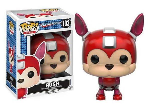 Funko Pop! Games Megaman Rush Vinyl Figure Toy #103