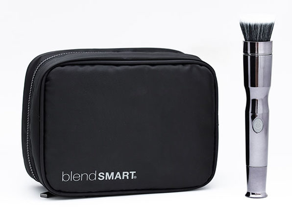 blendSMART2® Metallic Motorized Brush Tool + Cosmetic Bag
