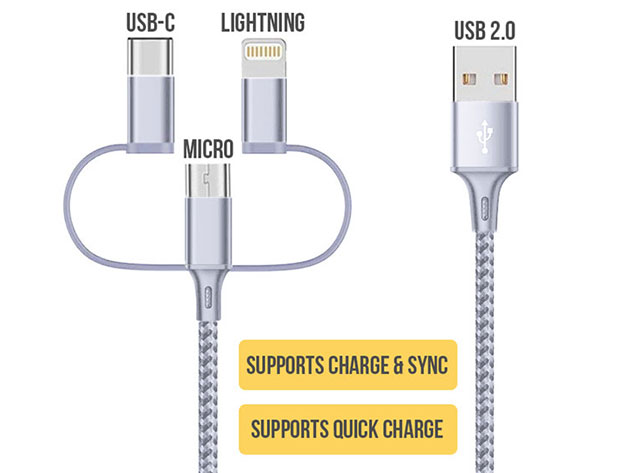 A charging cable built to withstand the test of time.
