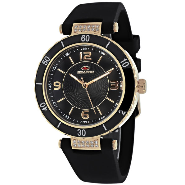 Seapro Women's Seductive Black Dial Watch - SP6414 - Product Image