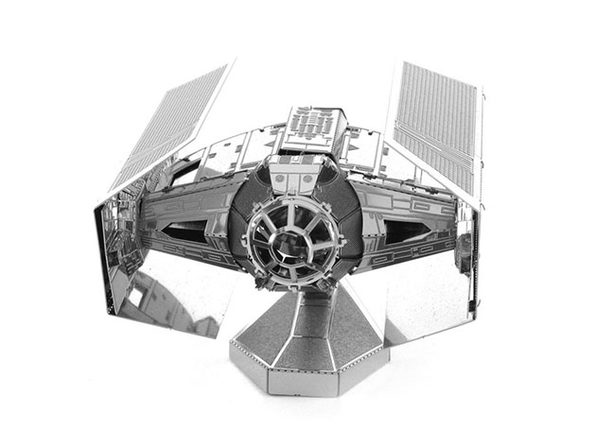 Darth Vader TIE Fighter 3D DIY Metal Sculpture - Product Image