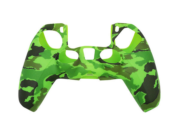 PS5 Silicone Controller Cover Camo Green - Product Image