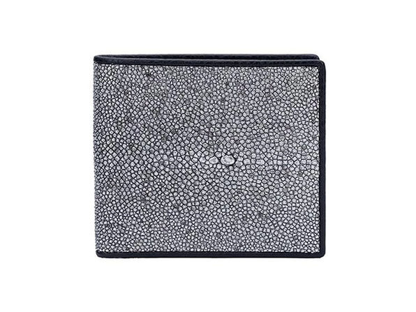 Andre Giroud exotic stingray wallet - silver - Product Image