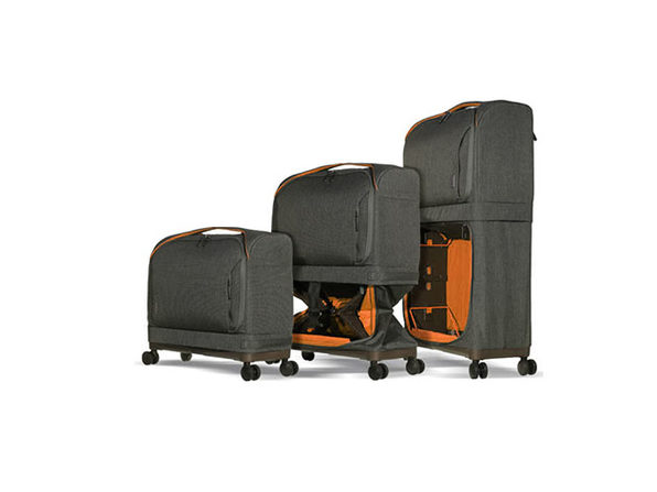 Rollux 2-in-1 Expandable Suitcase (Orange)