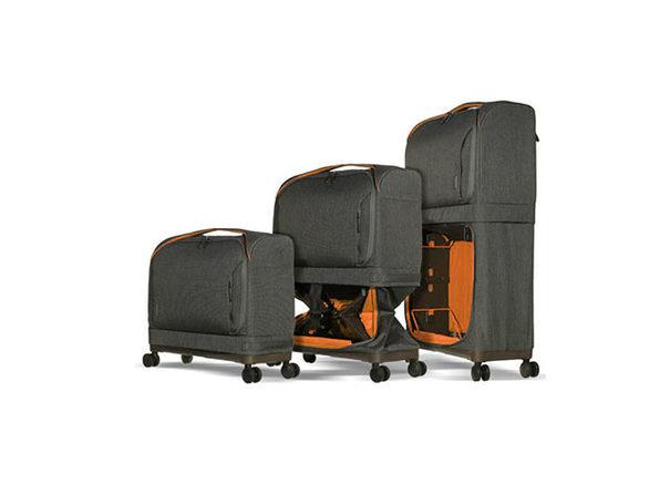 Rollux 2-in-1 Expandable Suitcase (Orange)