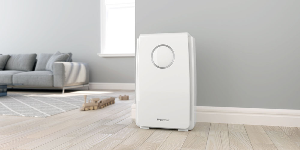 5-in-1 Air Purifier with HEPA Filter & Negative Ion Generator, now on sale for $109 (26% off)