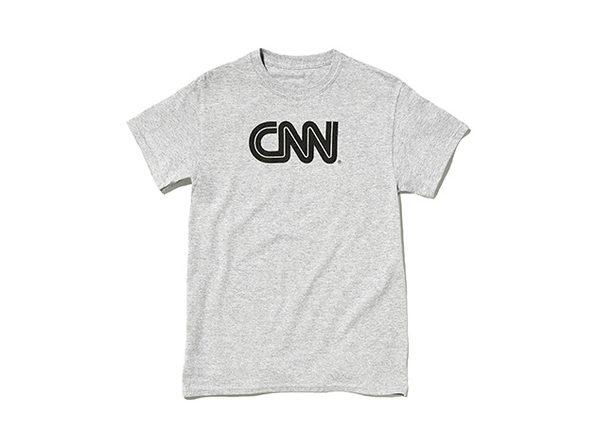 CNN Promo Tee  Ash XL