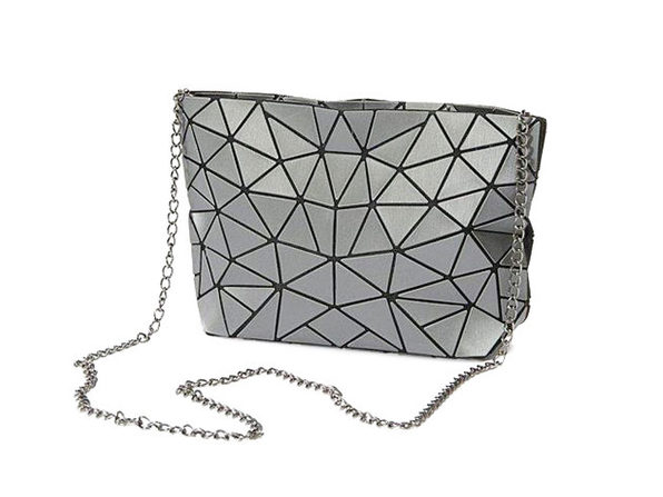 Mozaiki Cocktail Cross Body Purse- Silver - Product Image