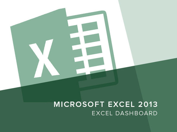 Excel 2013 - Excel Dashboard - Product Image