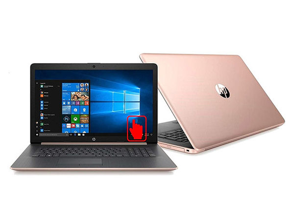 "HP 15.3"" Touch Laptop AMD Ryzen 5, 1TB - Rose Gold (Certified Refurbished)"
