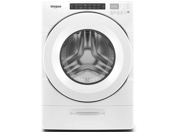 Whirlpool WFW5620HW 4.5 Cu. Ft. White Front Load Washer with Steam - Product Image
