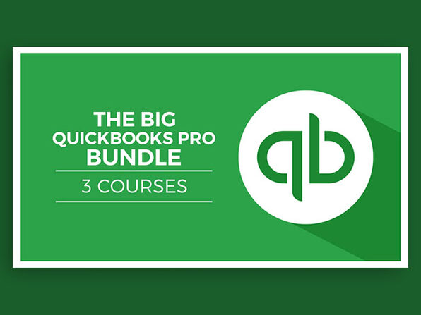 The 2020 QuickBooks Pro Mastery Bundle - Product Image