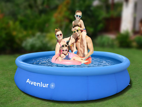 "Avenlur Inflatable Family Pool (14Ft x 33"")"