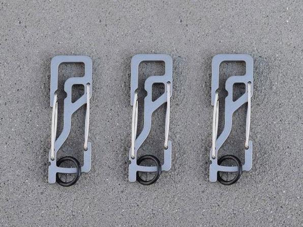 Key Titan KT5 Carabiner: 3-Pack (Silver)